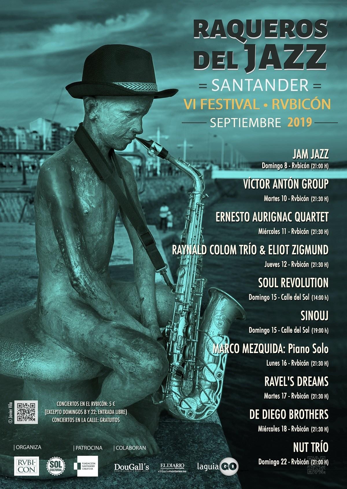 raqueros del jazz - 2019 - sol cultural